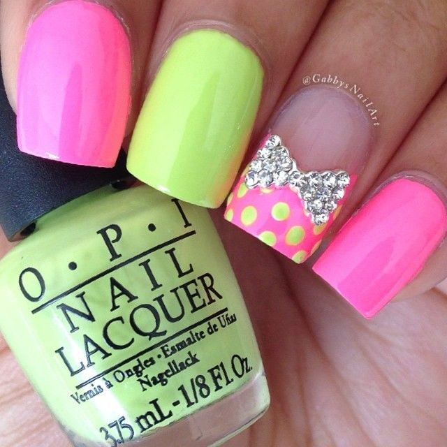 161894 Colorful Spring Nails