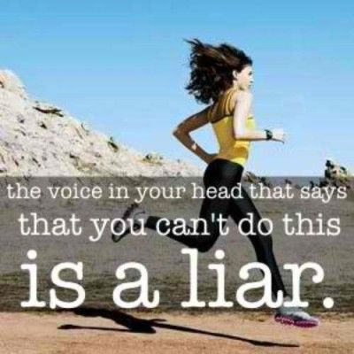 Dont trust liar INspirational quotes for running runners motivation quotes