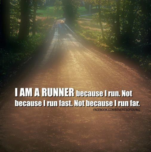 Iam a Runner runners motivation quotes