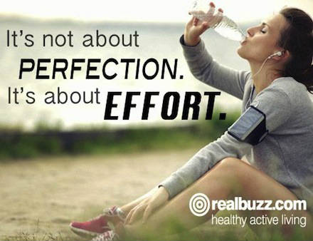 Runners motivation quotes Its all about effort