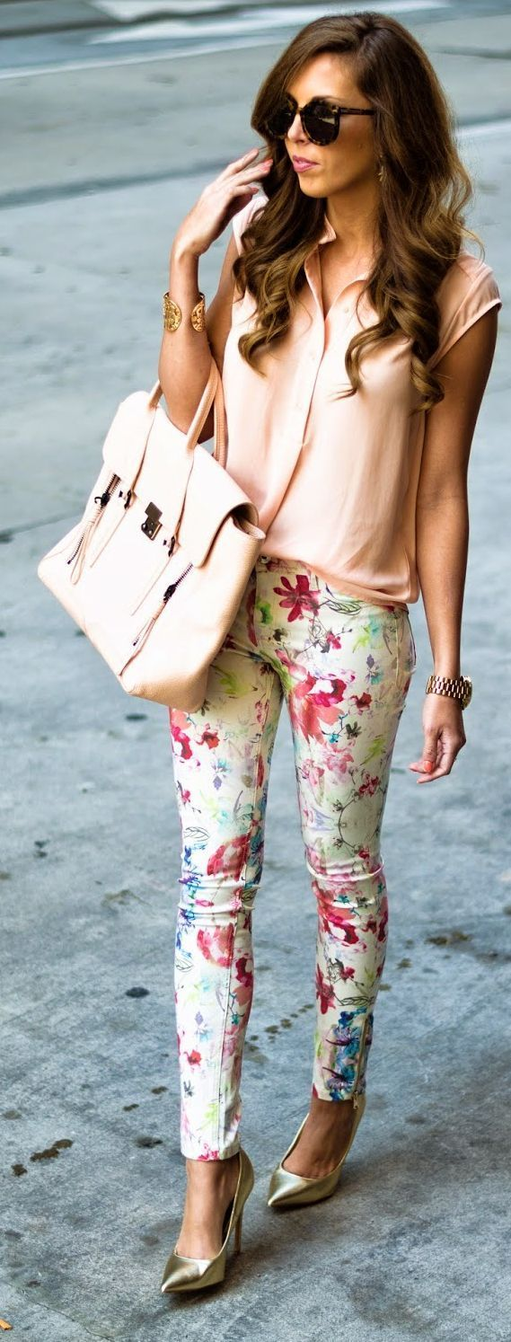 Floral spring fashion