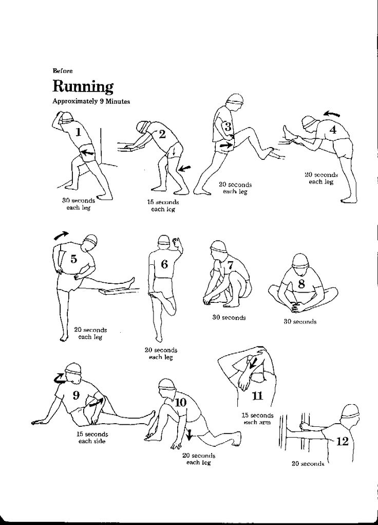 What kind of stretches to be done before running stretches for runners