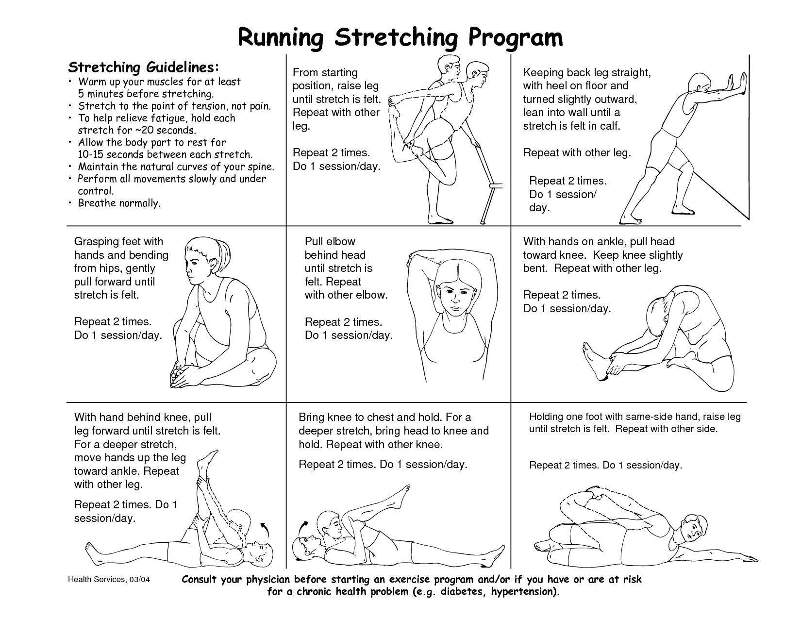 Stretching Post Running To Prevent Injuries Stretches For