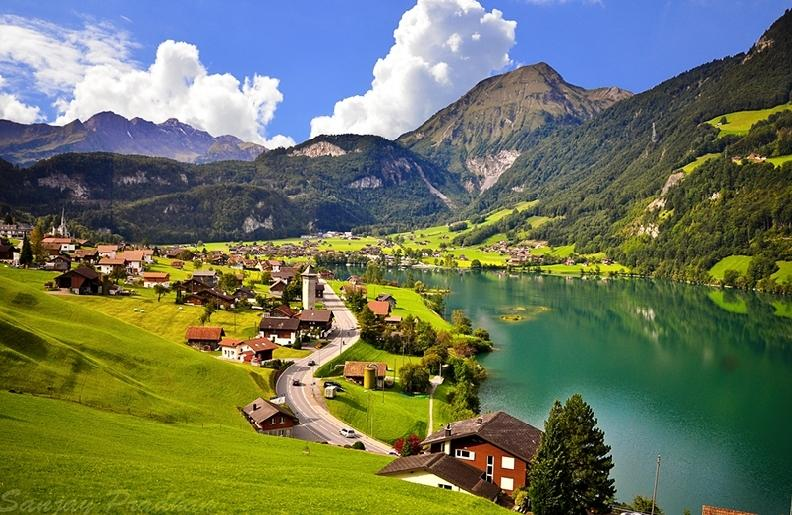 Beautiful Switzerland landscape