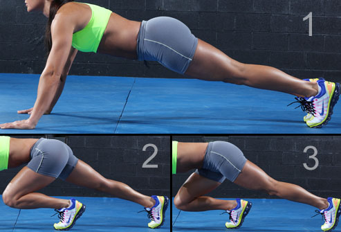 Running plank workout exercises for runners via wemd