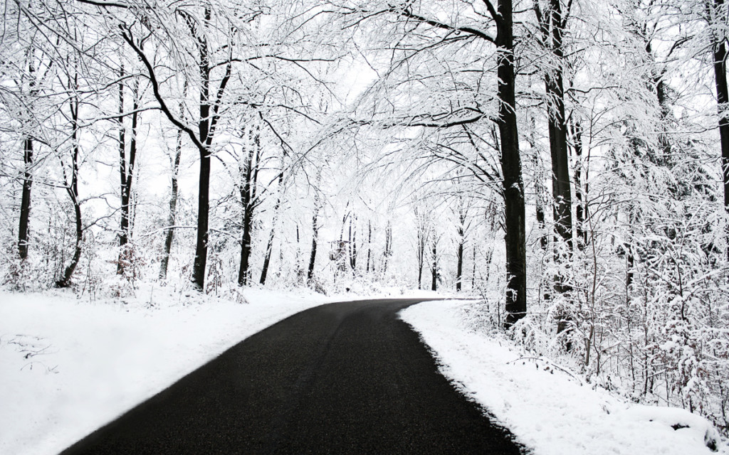 dark and black through snow winter wallpapers
