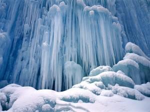 Frozen Waterfalls winter wallpapers