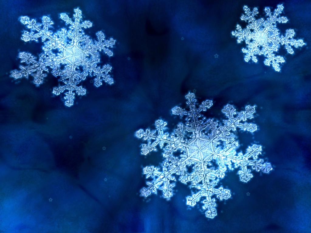 Wonderful Winter snow flakes closeup hd wallpaper backgrounds