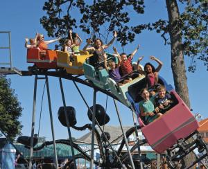 Roller coaster Amusement Oaks park Portland