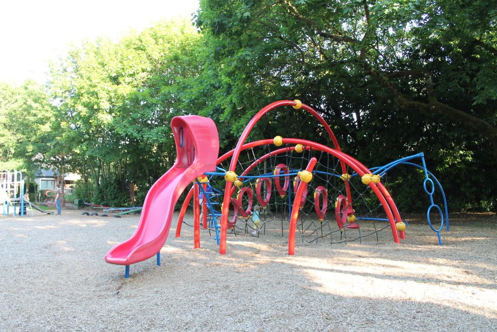 Irving City Park New 9 Playground Irving park Portland