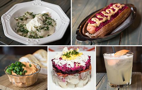 Food collage kachka portland