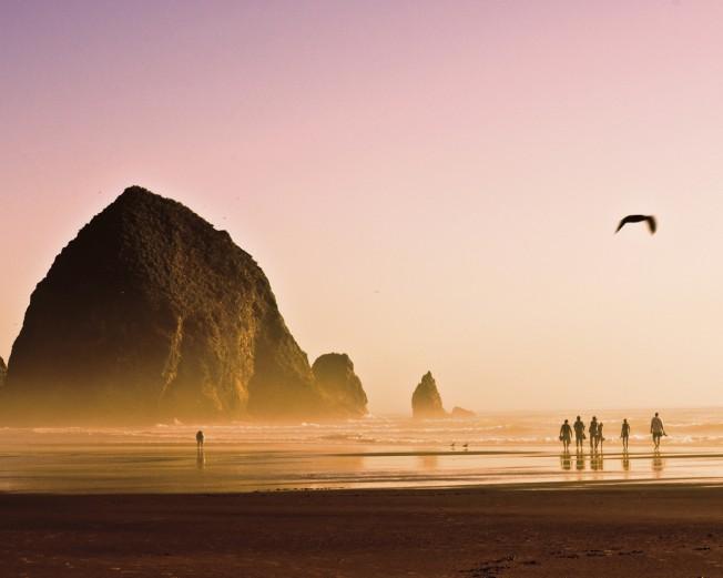 Oregon Coast Seaside Portland beach