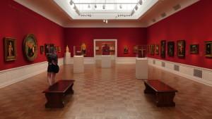 Inside Portland art museum