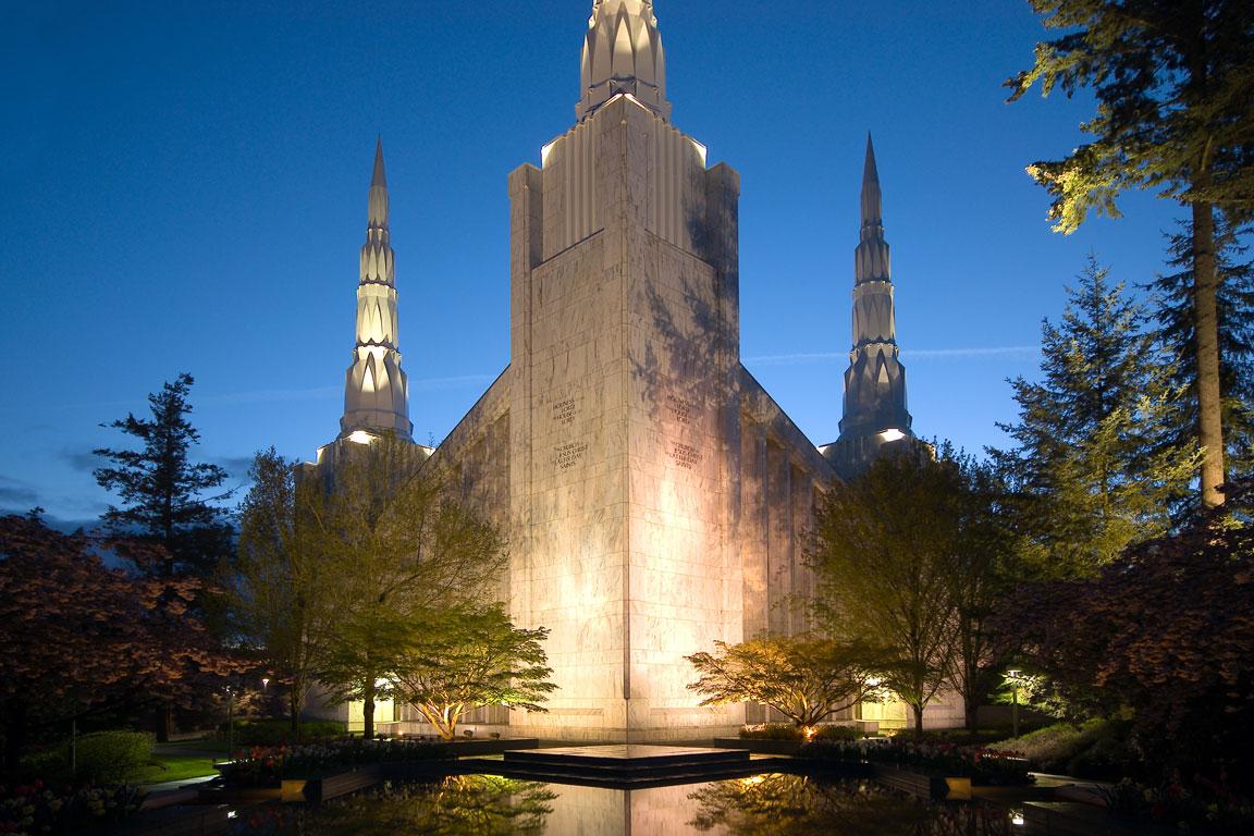 Mormon temple portland