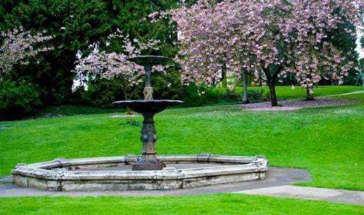Washington park Portland