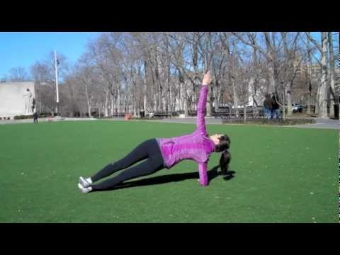 Plank & Side Plank – Strength Exercises for Runners – YouTube