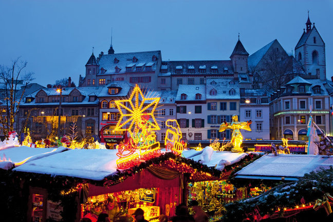 Christmas celebration in Switzerland