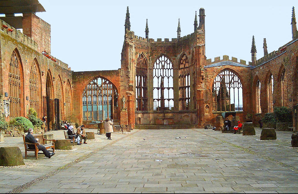 Conventry things to do Coventry Cathedral