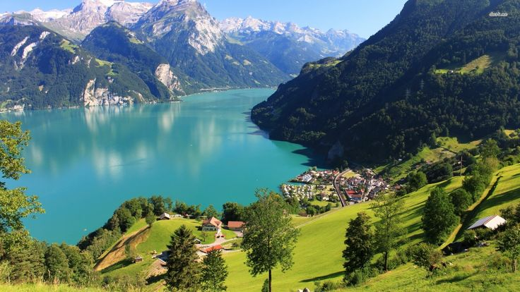 Lake Lurcene Switerland Attractions