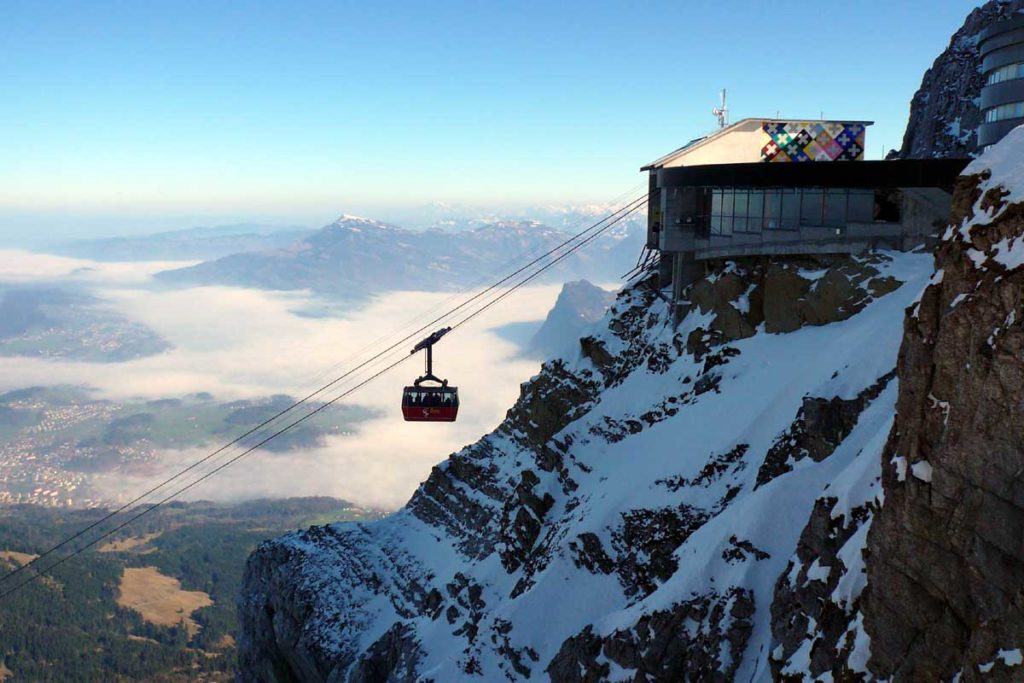 Mount pilatus Switzerland attractions