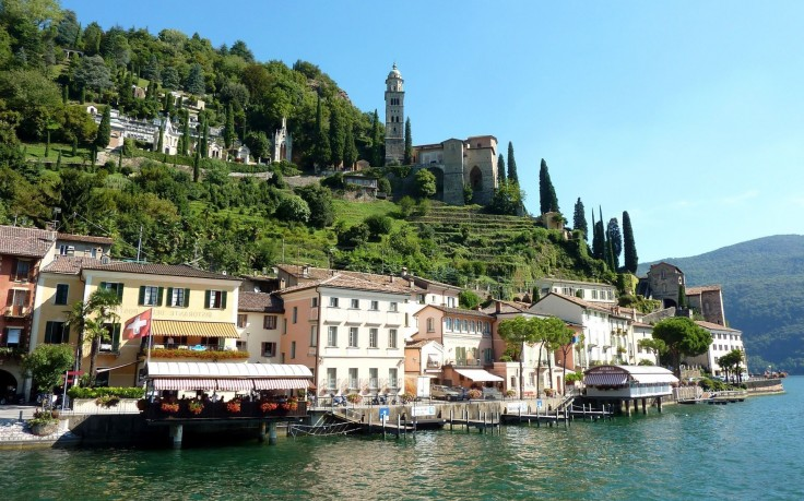 Switzerland Lake Lugano