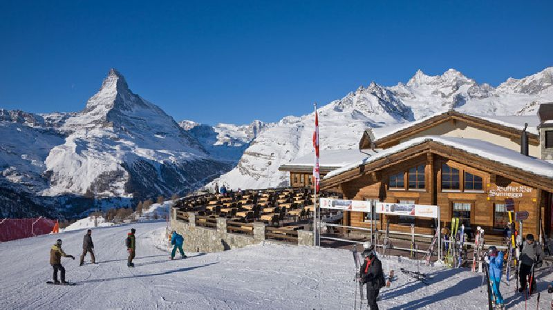 Switzerland Zermatt Sunnegga