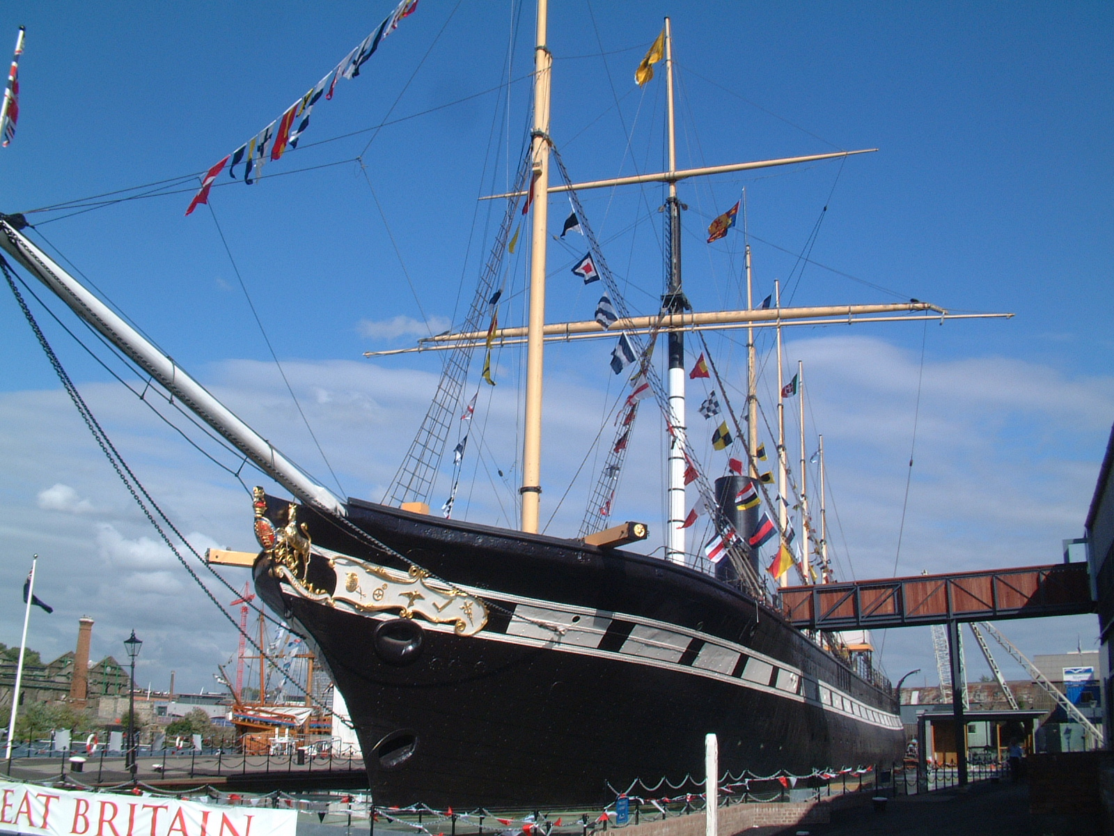 Things to do in Bristol Brunnel SS Great Britain