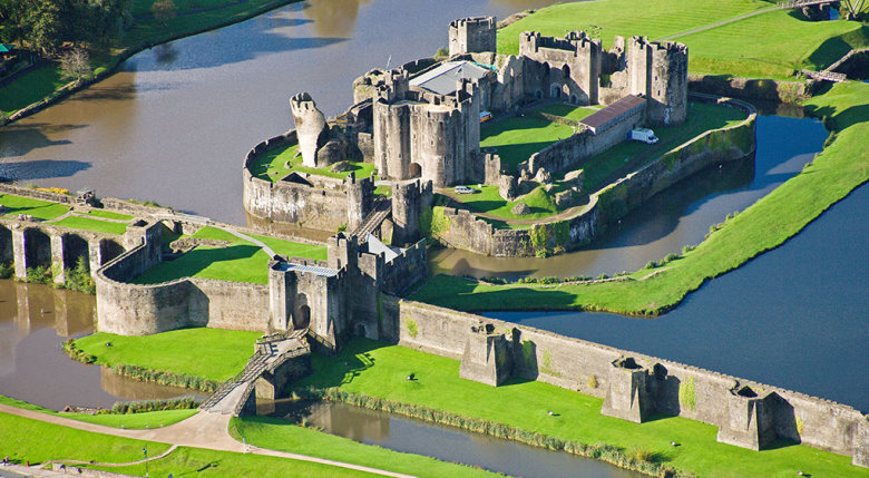 Caerphilly Castle Cardiff