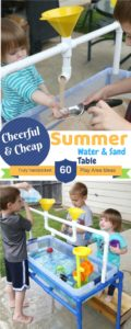 Cheap PVC Pipe Stand for Summer Water and Sand Table