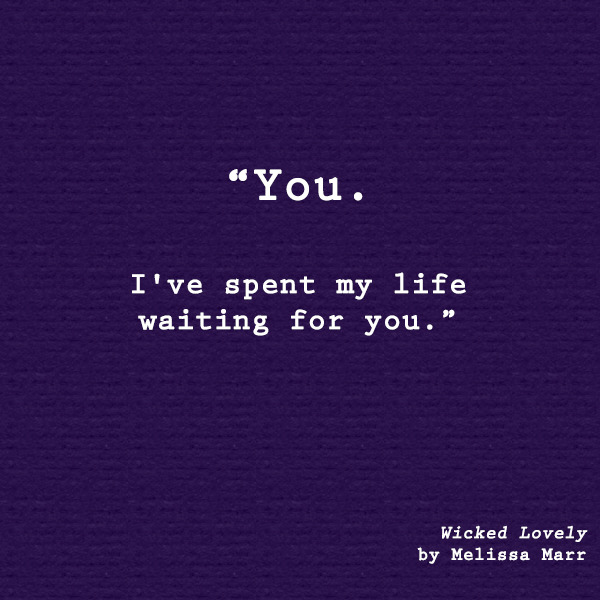 You, I have Spent My Life Waiting for You