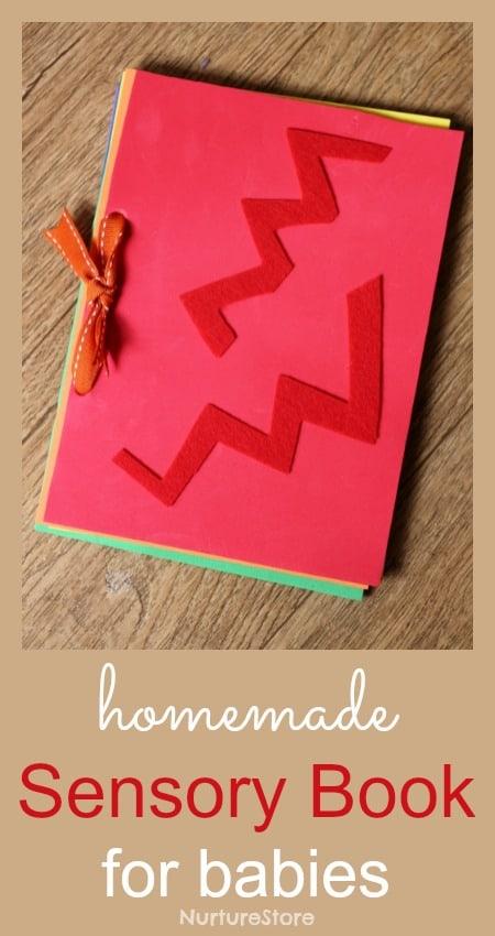 19 DIY Baby Sensory Book
