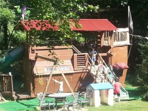 39 Intricately Made Pirate Ship Playhouse