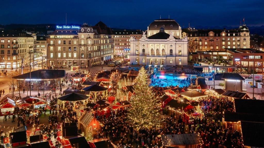 Christmas in Switzerland Kameha Grand Zurich