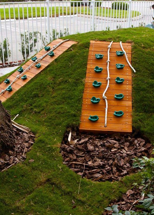 Make a Climbing Wall for Slope