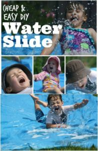 Make a Simple Water Slide for Kids Play Area