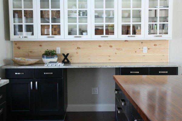 12 Natural Contrasting Kitchen Backsplash from Wood Crate ...