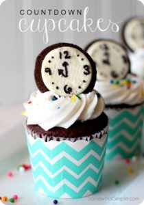 New Year Dessert Ideas Count Down Cupcake