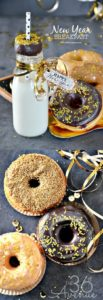 New Year Party and Breakfast Ideas with Donuts