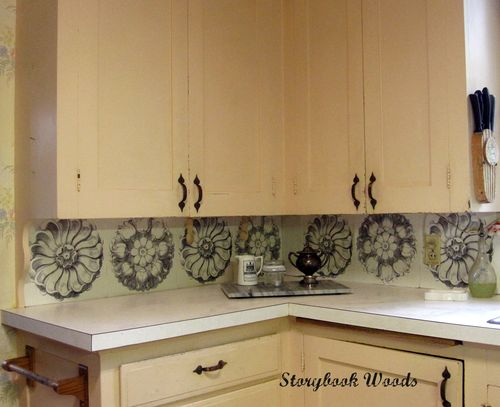 11 Placemat Made Designs For Diy Kitchen Backsplash Truly Hand