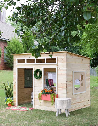 27 Simple Easy Wooden Indoor Playhouse