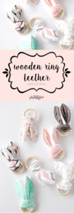 3 Simple Wooden Ring Teether