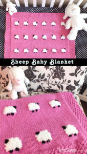 13 Super Cute Sheep Baby Blanket