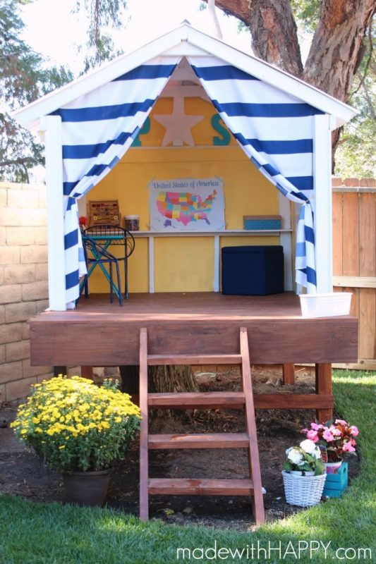 32 The Vibrant Happy Tree House for Cheerful Playing Session