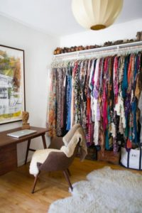 30 Undemanding Vertically Hanging Closet Style with Wide Storage Space and an over the shelf Sho ...
