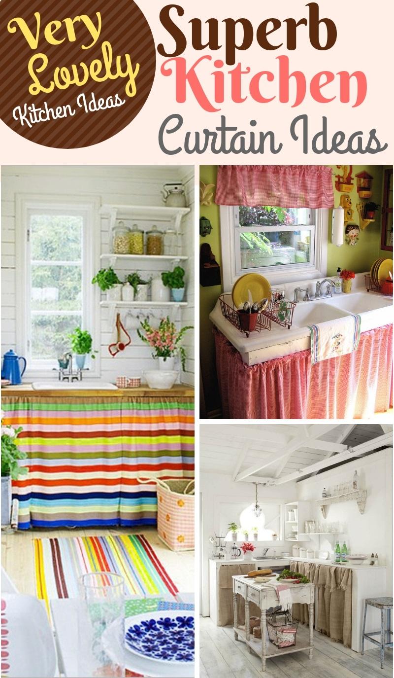 Kitchen Curtain Ideas 40 Superb Windows Sink Decor
