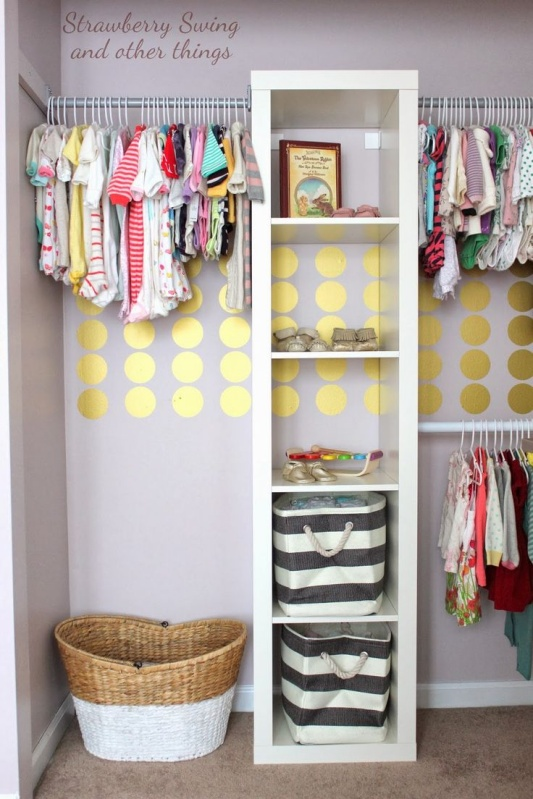 25 Catchy Diy Closet Organizing Process For Nursery Stuff With Shelves Hangers And Baskets