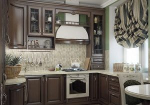 12 Classic Kitchen Window Curtain Design with Thick Heavy Fabric with Darker Prints to Keep the  ...