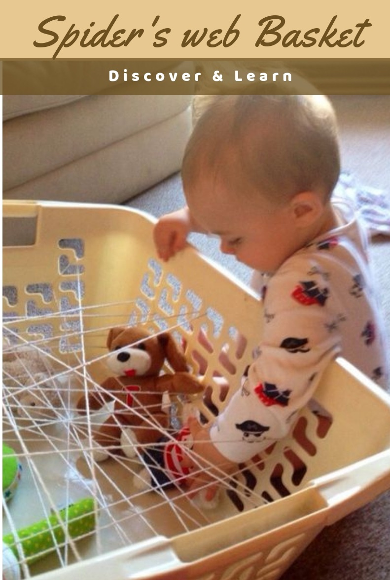 DIY Baby Stuff: Discover and Learn Spider's Web Basket