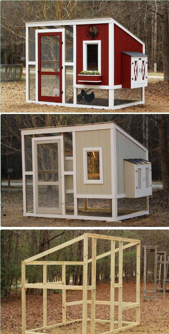 How to Build Chicken Coops – DIY Frugal Chicken Coop Plans