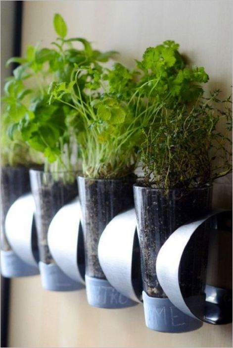 17 DIY IKEA Wine Bottle Holders as Vertical Herb Planters to Make your Kitchen Dcor more Healthy ...